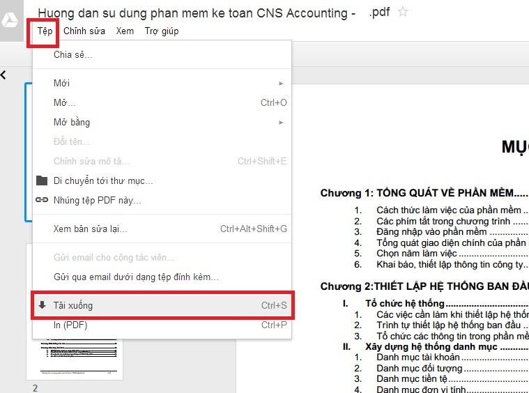 Huong dan su dung phan mem ke toan CNS Accounting