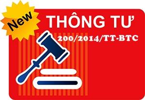 Thông tư 200 2014TT/BTC